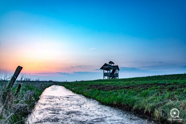 zonsopkomst-uitkijktoren-zuidlaardermeer-eddy-reynecke-photography-1-van-1