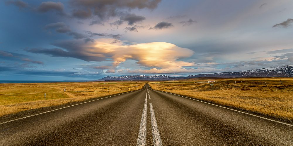ENDLESS ROAD - ICELAND